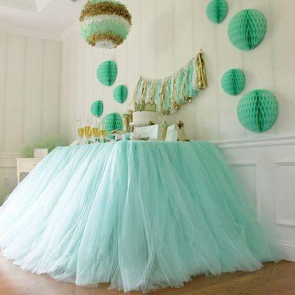チュールロール パーティ 装飾 結婚式 コーデ...