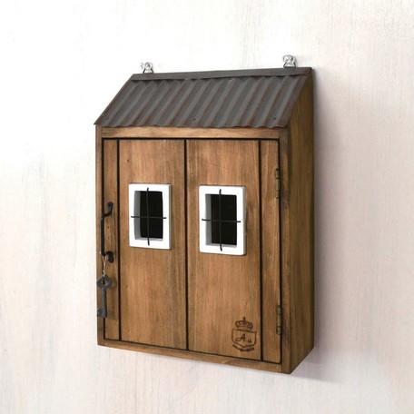 ★入荷待ち商品★ 【キーボックス】壁掛け 木製...