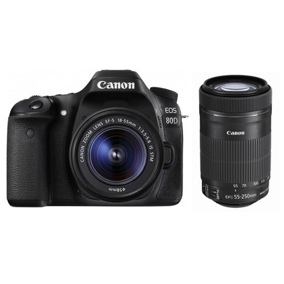 【送料無料】【即納】Canon EOS 80D ダブルズーム...