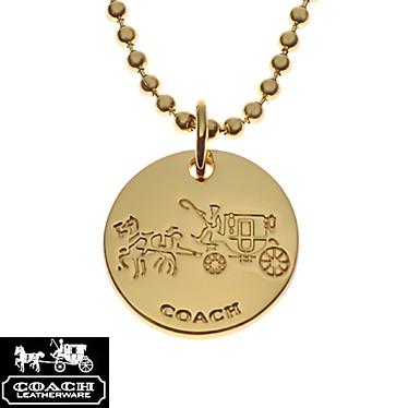 コーチ F90557/GD/GD/N/1 ゴールド コイン  COAC...
