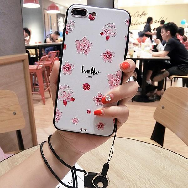 iPhone7/iPhone6s Plus/iPhone6 Plusケース花柄レ...