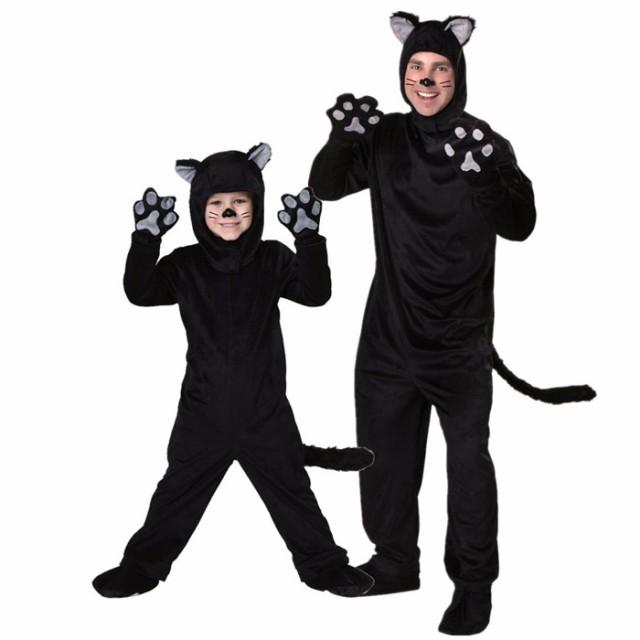 ハロウィン 衣装 子供用 猫 ねこ 動物 アニマル ...