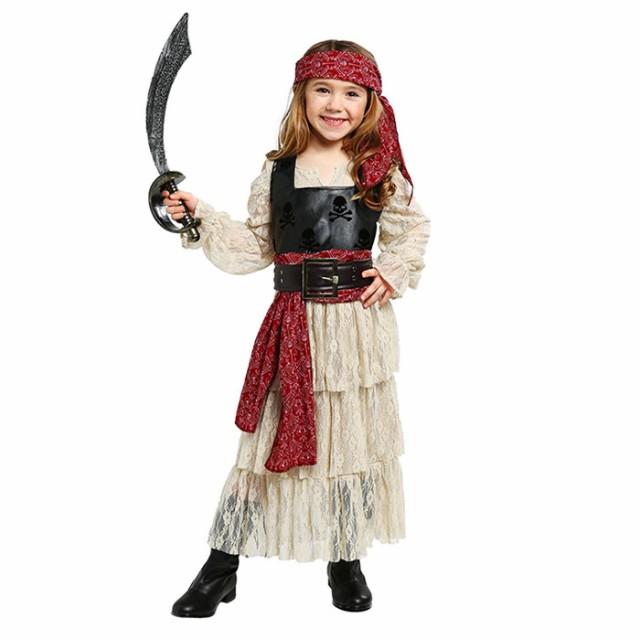 ハロウィン 衣装 キッズ 海賊 パイレーツ 強盗 ご...