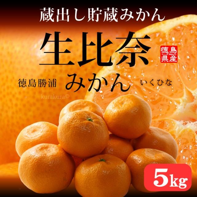 蔵出し生比奈みかん(約5kg)徳島県勝浦町産 Mサイ...
