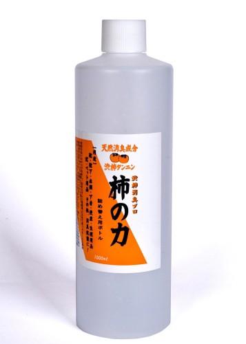【柿の力 詰め替え用 1,000ml】カキタンニンとヒ...