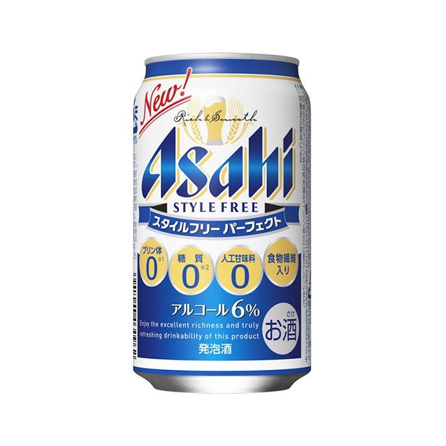アサヒ スタイルフリー パーフェクト 発泡酒 350ml 1ケース(24本)