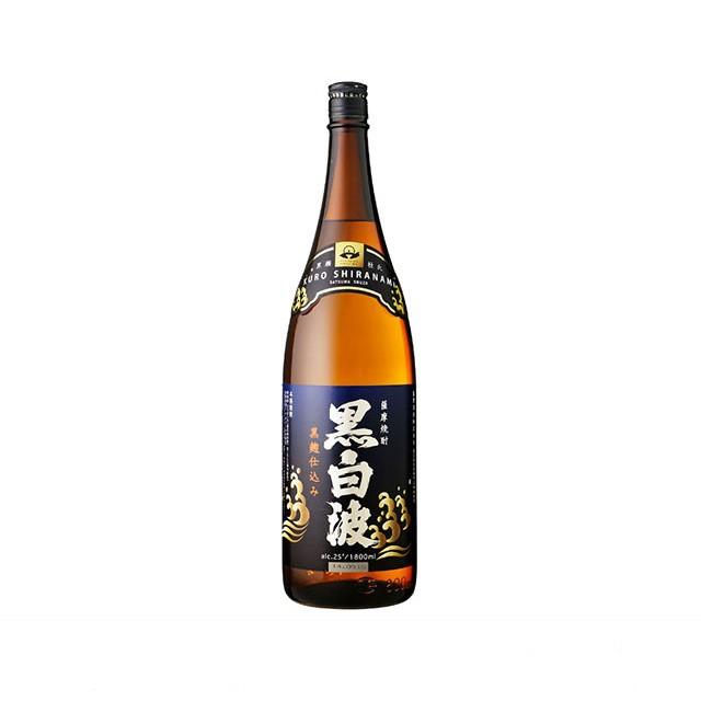 「数量限定特価」黒白波 芋焼酎 25度 1800ml瓶...