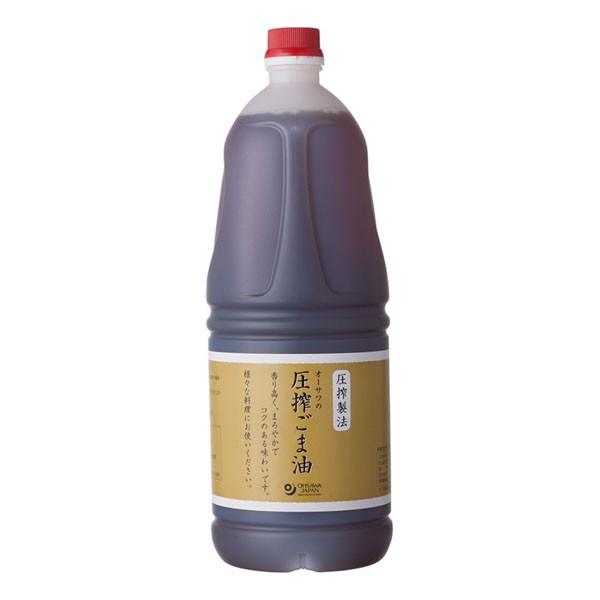 オーサワの圧搾ごま油 1650g オーサワジャパン