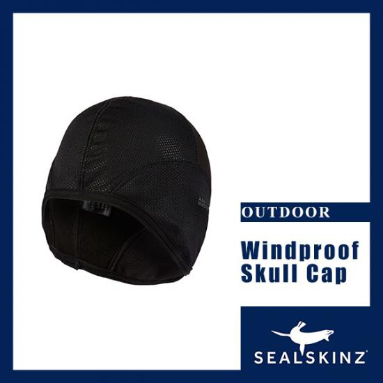 SEALSKINZ シールスキンズ 防風スカルキャップ Wi...