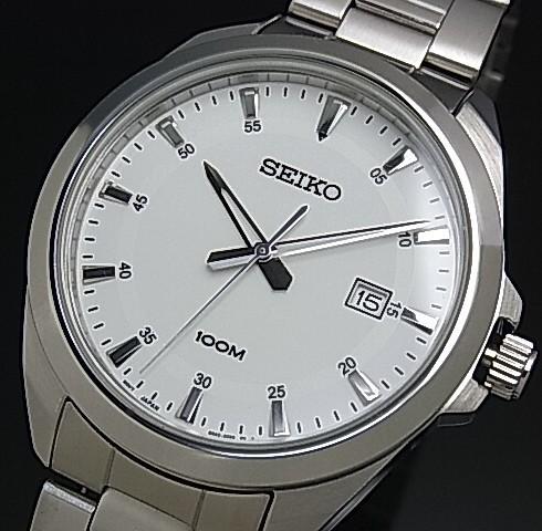 SEIKO/セイコー【クォーツ】メンズ腕時計 メタル...