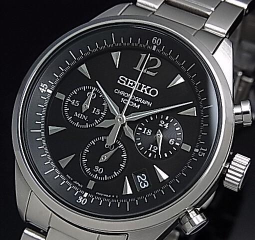 SEIKO/セイコー【クロノグラフ】メンズ腕時計 メ...