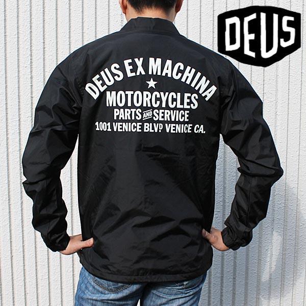 送料無料Deus ex Machina ジャケット メンズ デウ...
