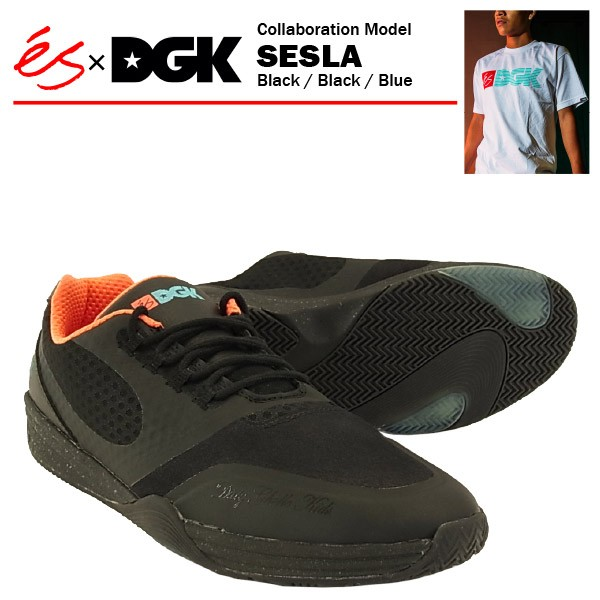 エス×DGK セスラ ブラック/ブラック/ブルー/27cm...