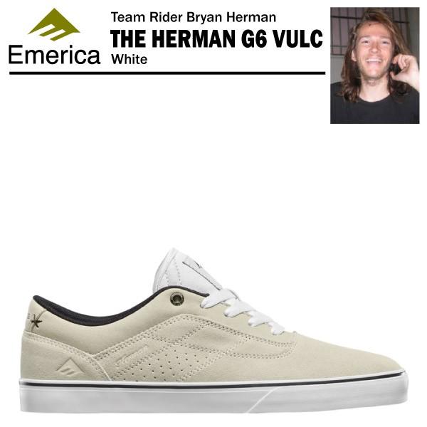 エメリカ ザ・ハーマン G6 VULC ホワイト ハイパ...
