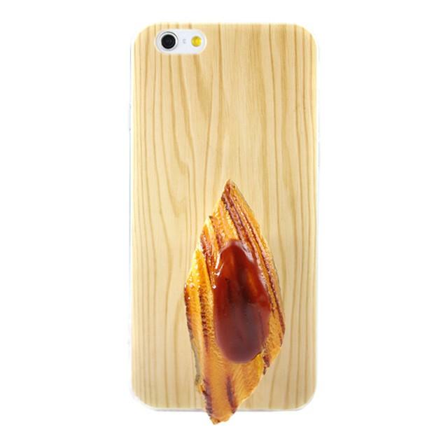 スシーン寿司モデルiPhone7/6/6sケース 焼き穴...