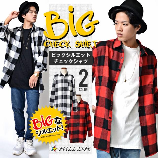 BIGサイズ ビッグサイズ メンズ ビッグシャツ チ...