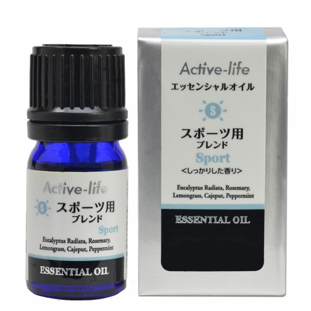 Active-Life アロマブレンド精油 スポーツ 5ml ユ...
