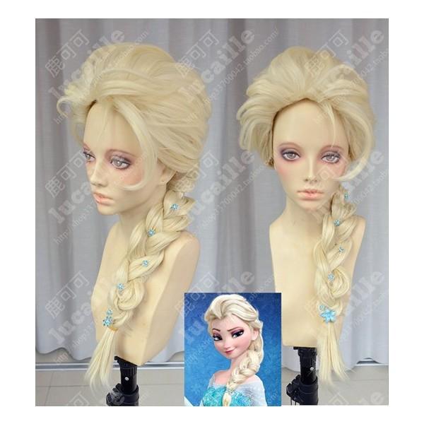 new cosアナと雪の女王 エルサ Elsa ウィッグ か...