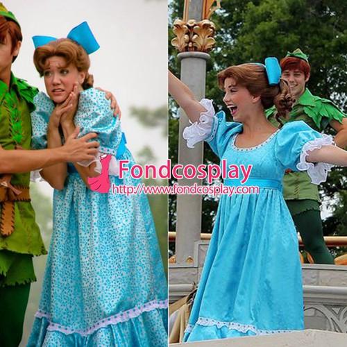 高品質 高級コスプレ衣装 ディズニー ティンカー・ベル 風 妖精 ウェンディ タイプ ピーターパン Peter Pan Wendy dress  costume|au Wowma!(ワウマ)