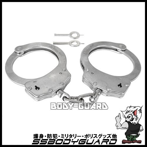 【手錠】ハンドカフ ダブルロック・ステンレス