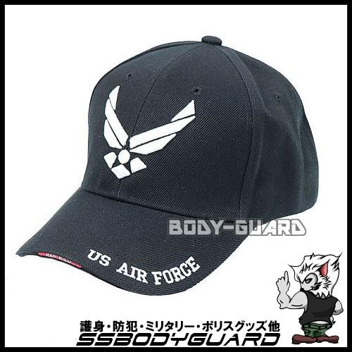 U.S. AIR FORCEキャップ ブラック