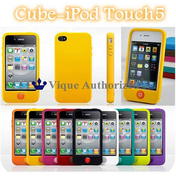 iPodtouch5/6ケースカバーシリコンラバータイプCU...