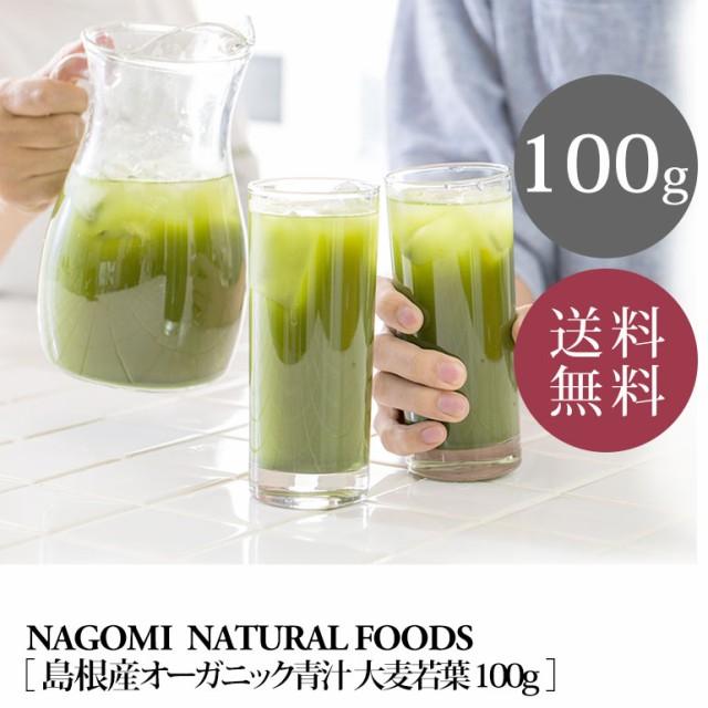 美味しい抹茶風味★オーガニック青汁大麦若葉100g...