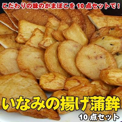 いなみの揚げ蒲鉾 10点セット