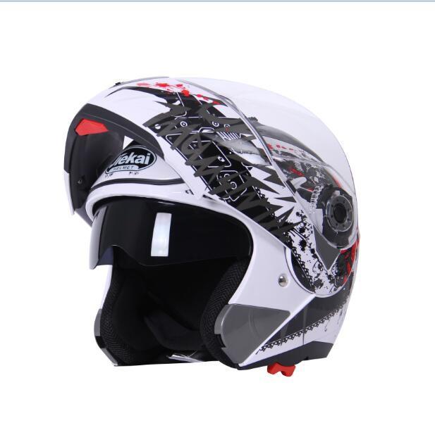 JIEKAI バイクヘルメット JK-105TS シールド付き ...