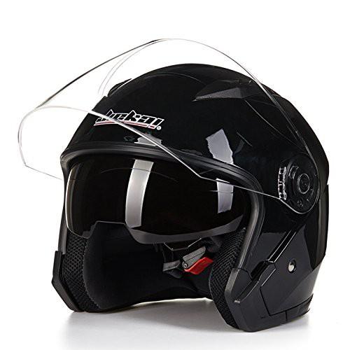 JIEKAI バイクヘルメット JK-512ヘルメット シー...