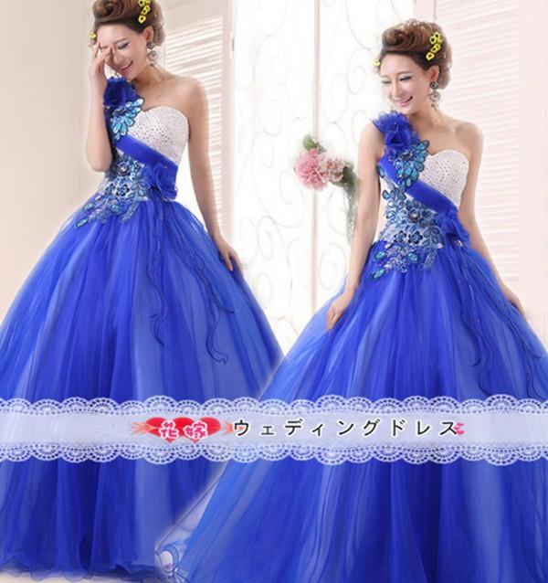 花嫁ドレス カラードレス  ウエディングドレス...