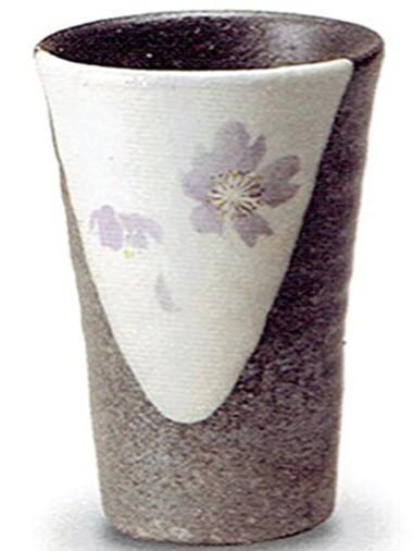 信楽焼 陶器 フリーカップ グラス コップ 湯呑 ロ...