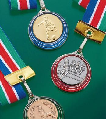 【刻印無料】表彰メダル(金・銀・銅)重量感のあ...