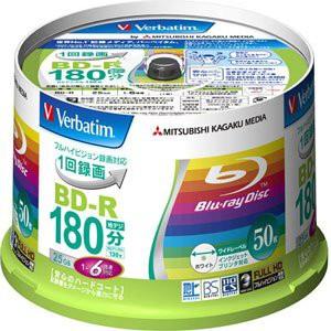 バーベイタム 6倍速対応BD-R 50枚パック 25GB ホ...