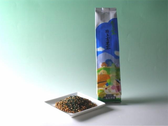 【霧の森】無農薬の新宮茶★特上茶ともち米の玄米...