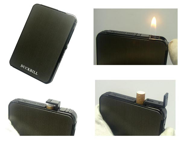 送料140円〜新品 ライター機能付きスライドアップ...
