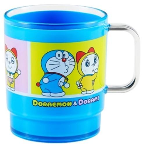 ◆OSK ドラえもん スタッキングコップOW-3 ブルー...