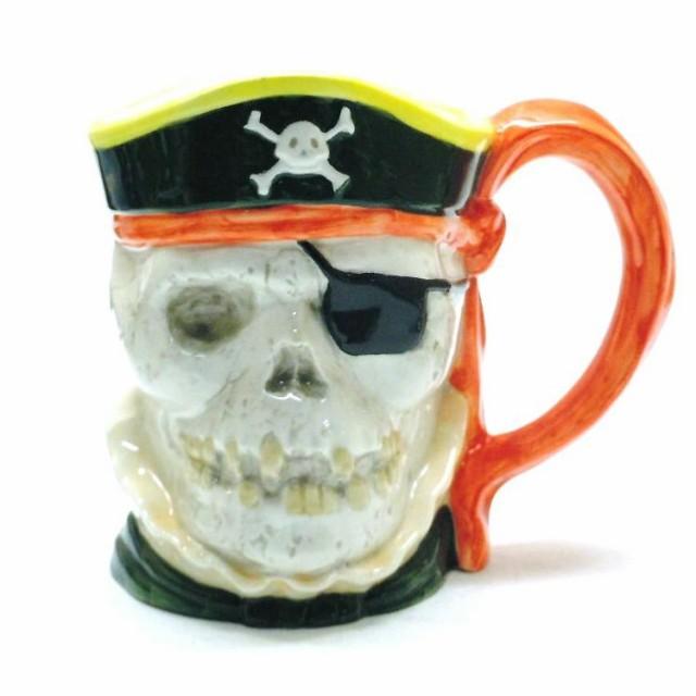 ◆アメリカン雑貨 海賊ビアジョッキ(スカル)(...