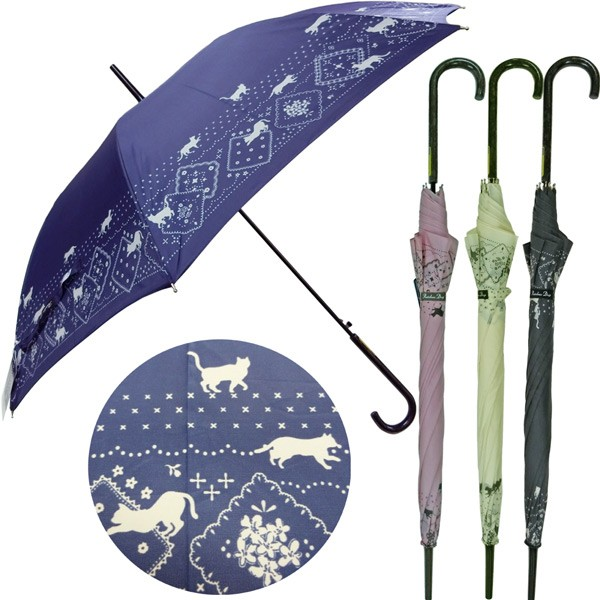 016-124-7/クラックス/【Long Umbrella】婦人長傘...