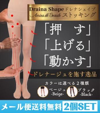 【メール便送料無料☆2枚セット】ドレナシェイプ ...