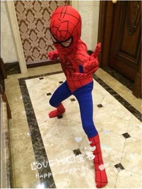 スパイダーマン タイツ大人用 小人用コスプレ衣装...