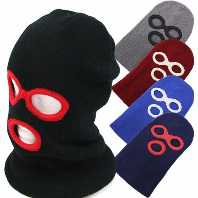 フェイスマスク(目出し帽 バラクラバ ニット帽)...
