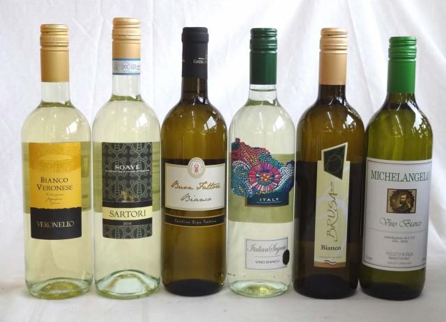 イタリア白ワイン6本セット(ヴェロネッロ ビアン...