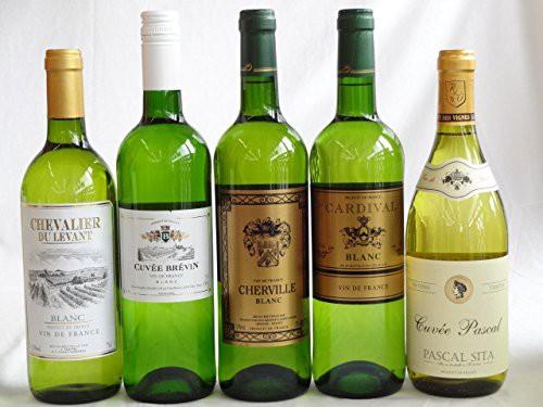 セレクションフランス白ワイン5本セット 750ml×5...