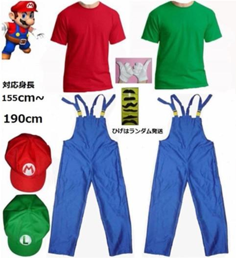 スーパーマリオ ルイージ キッズ〜大人  スカー...