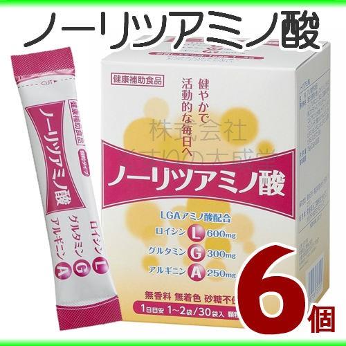 トキワ ノーリツアミノ酸 2.5g 30袋 6個 常盤薬品...