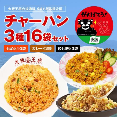 ≪食べて応援!!くまもと≫ ◆チャーハン3種16袋セ...