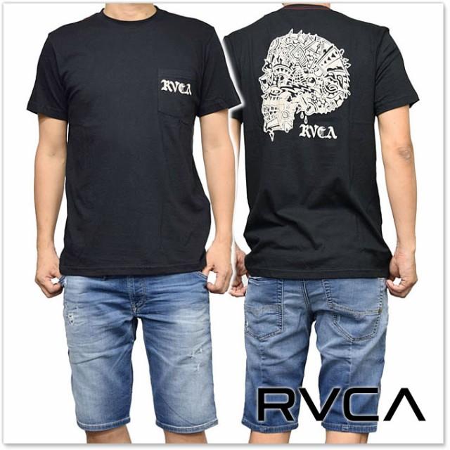RVCA ルーカ メンズクルーネックTシャツ BLUE SKU...