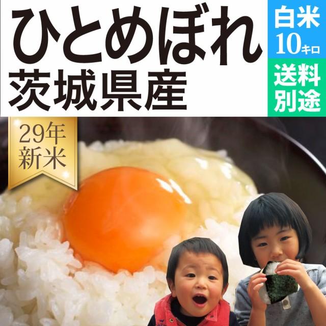 ひとめぼれ 白米 10kg 29年新米 茨城県産 送料別...