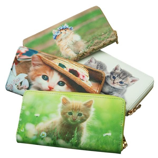 【ゆうパケット対応】かわいい子猫写真プリントの...